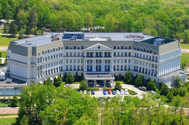 Beautiful Nemacolin Woodlands Resort And Spa In The Laurel Highlands Pa