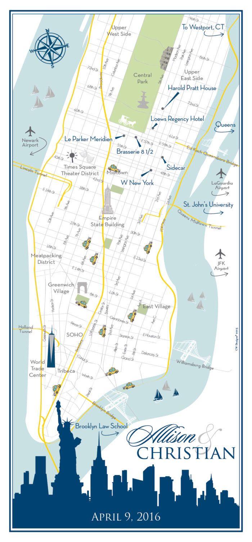 Wedding Map Invitation, Custom Wedding Map, Map Card, Wedding Map ...