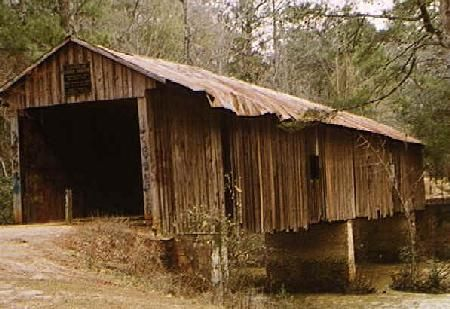 The Coheelee Creek Covered Bridge Is The Southernmost Covered - Length of usa in miles
