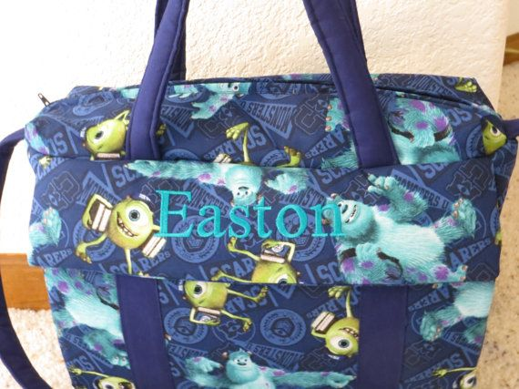 Monsters Inc Diaper Bag With Changing Pad By Emijane