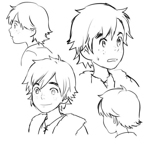 Gong Yi Ten Pai Ghibli Art Drawings My Drawings