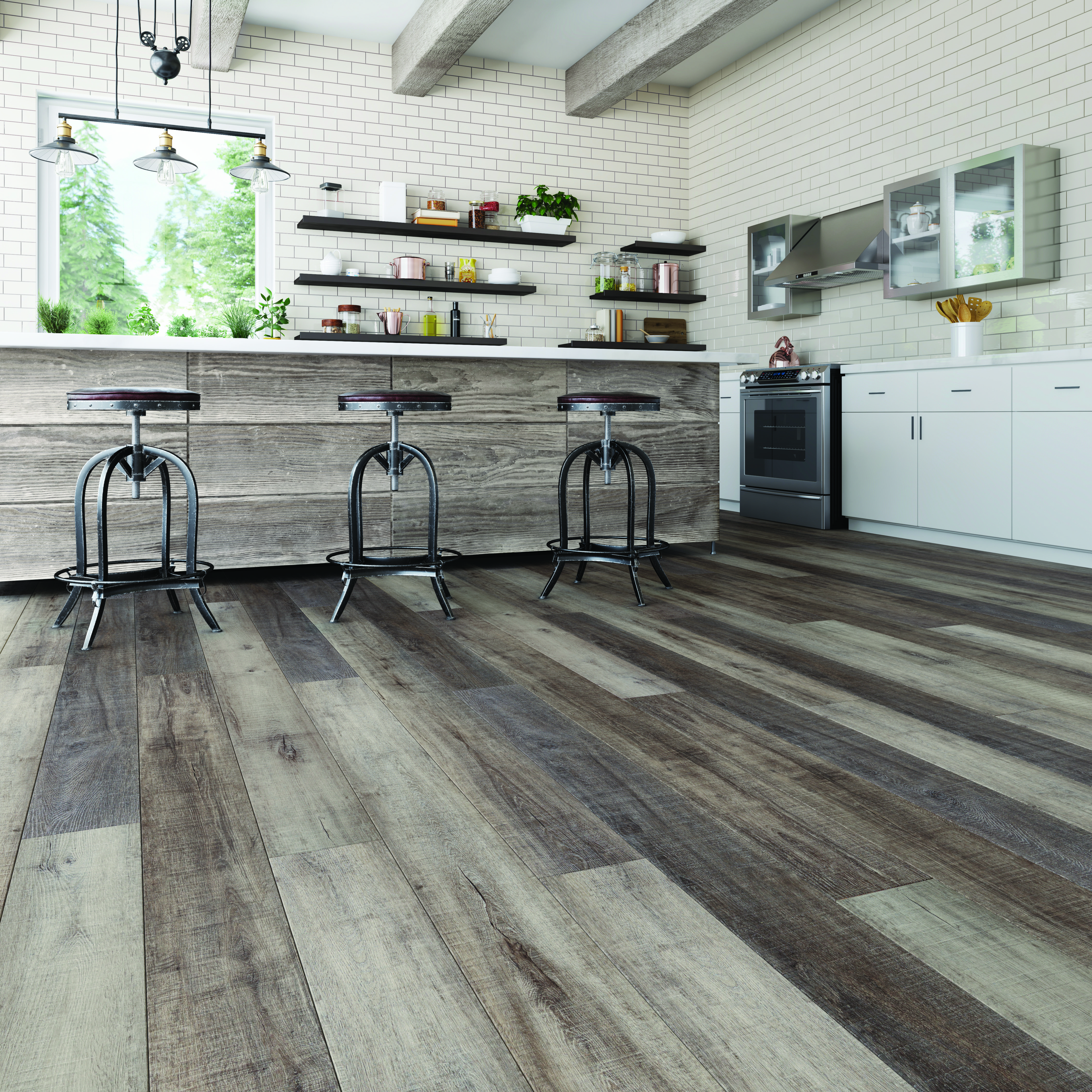 Torlys Vinyl Planking   Kitchen flooring, Flooring, Kitchen ...