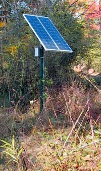 Build Your Own Solar Powered Water Pumping Station Backwoods Home Magazine Solar Powered Water Pump Solar Solar Panels