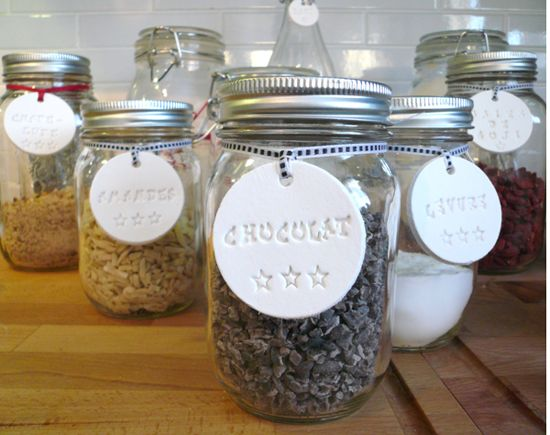 Tiquettes d co pour organiser sa cuisine projet - Comment organiser sa cuisine ...