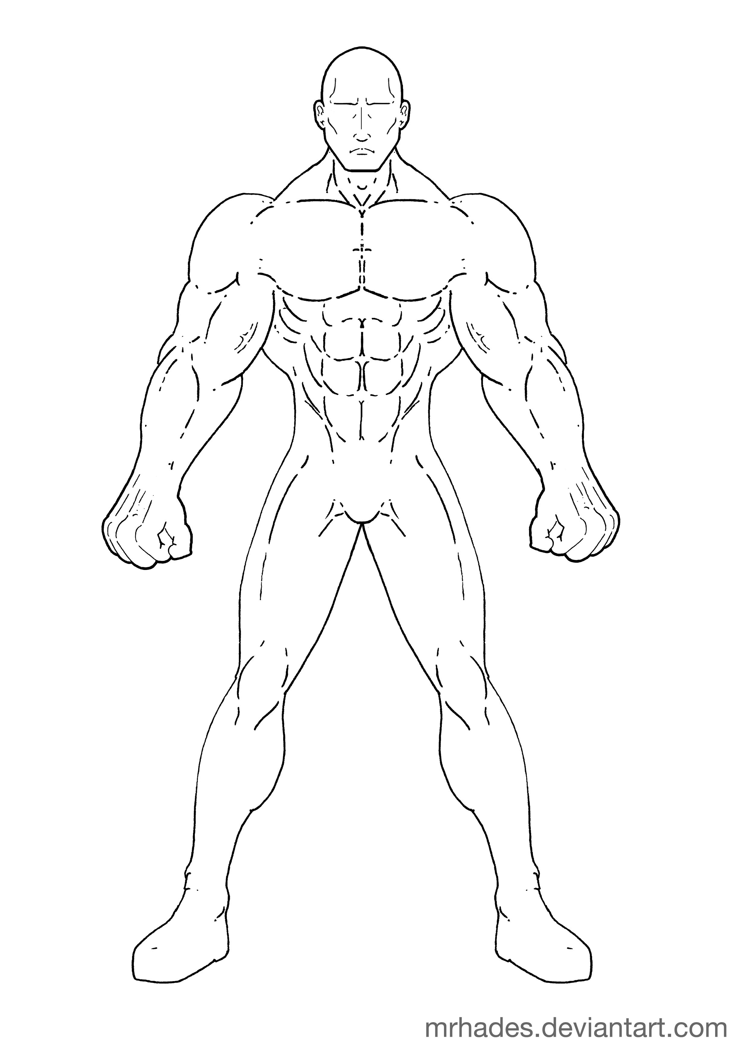 X Men Comic Drawing Outlines