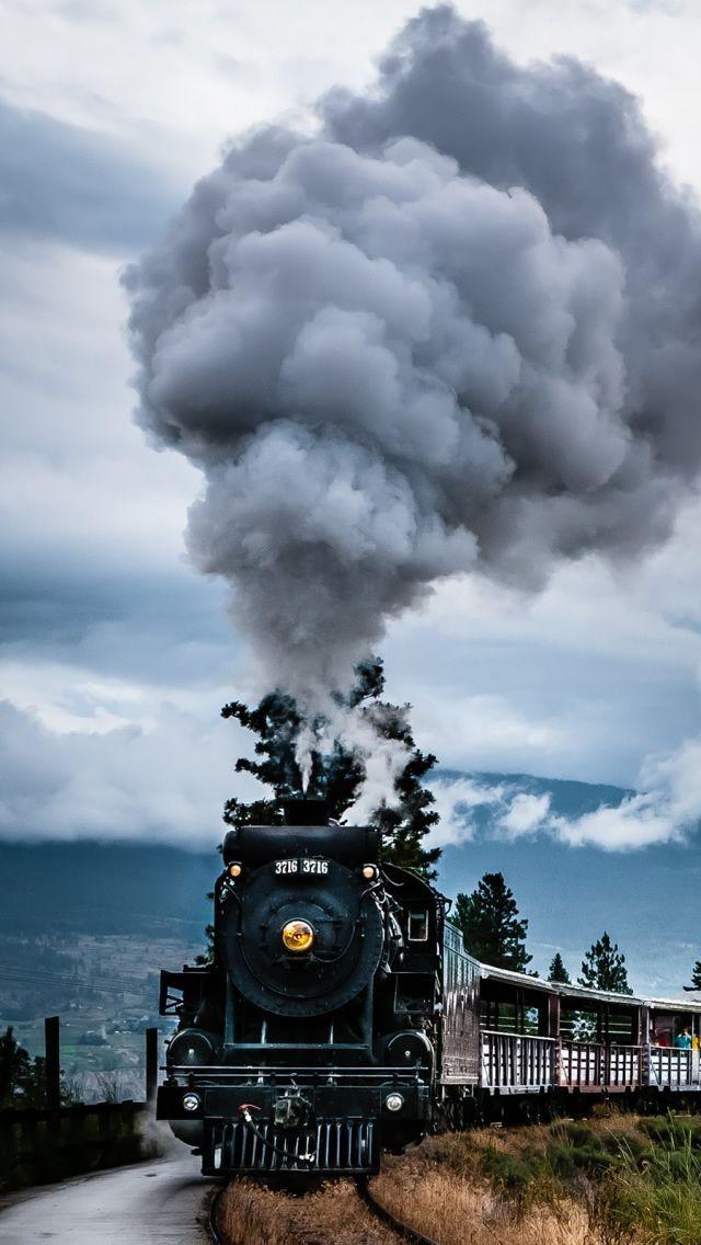Old Train 2 Iphone 5 Wallpaper Train Old Train Steam Trains