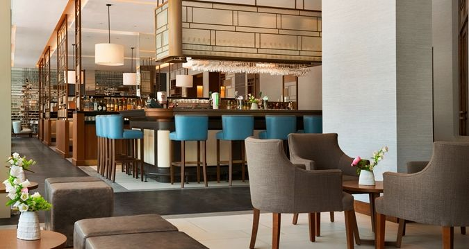 hilton rotterdam hotel - stadshal bar | high end food | pinterest, Innenarchitektur ideen