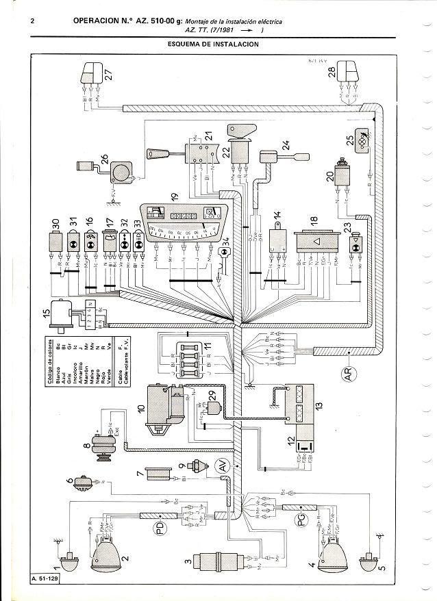 circuito electrico dyane6