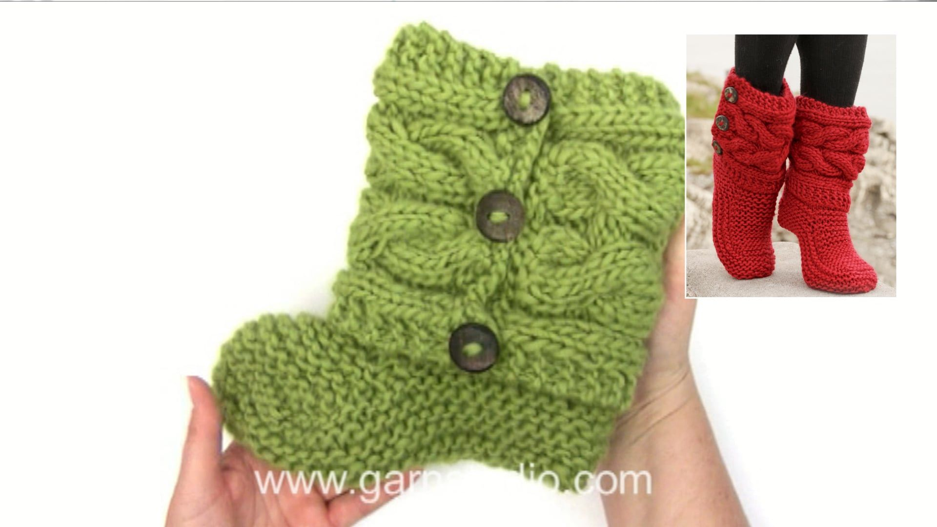 How to knit and assembly the slippers in DROPS 150-4 | Craft ...