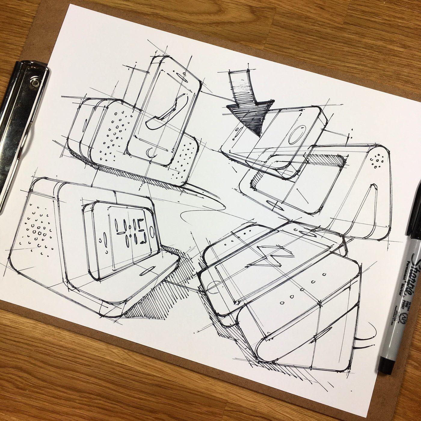 Pin By Ximena Quintana On Di Industrial Design Sketch Design