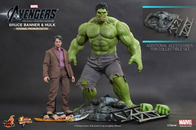 Hot Toys Bruce Banner and Hulk 1