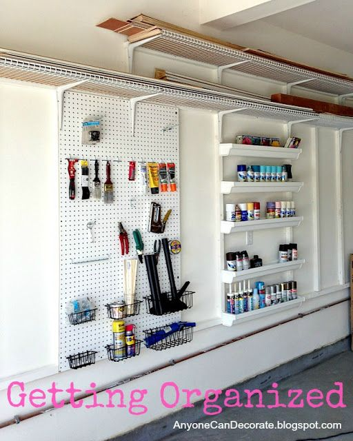 Garage Wall Organizer