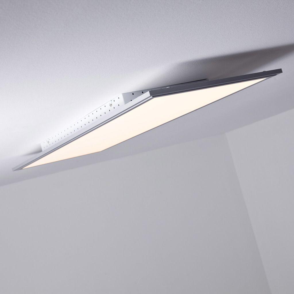 LED Panel 60W Deckenleuchte, 100cm X 35cm Eckig, Inkl. Fernbedienung  Dimmbar, 5.000