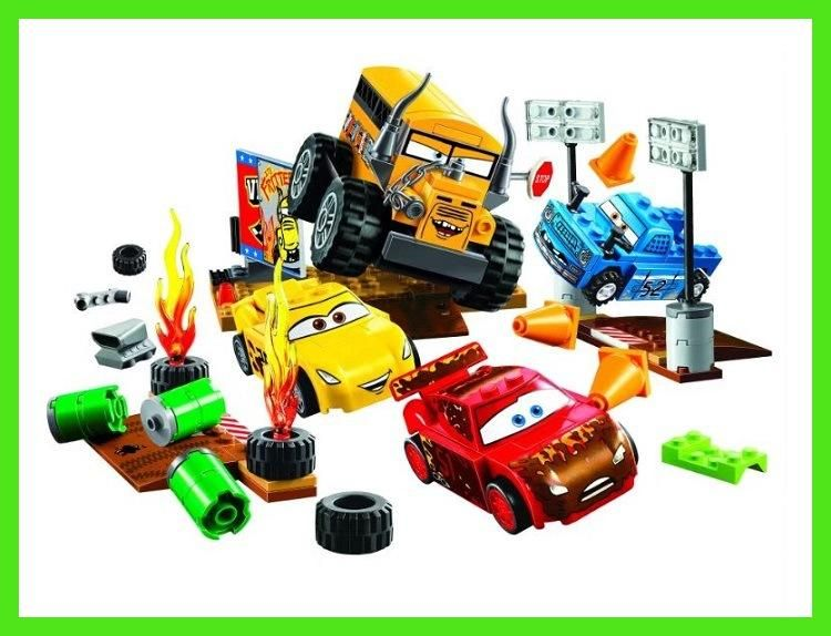 Hot Sale Cars Lightning Juniors Smokey S Garage Building Blocks 3 Educational Toys For Children Compatible With Lego Gift Educational Toys Lego Gifts Kids Toys