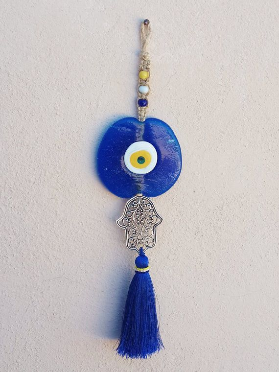 Turkish Evil Eye Wall Hanging Home Garden by LylaAccessories