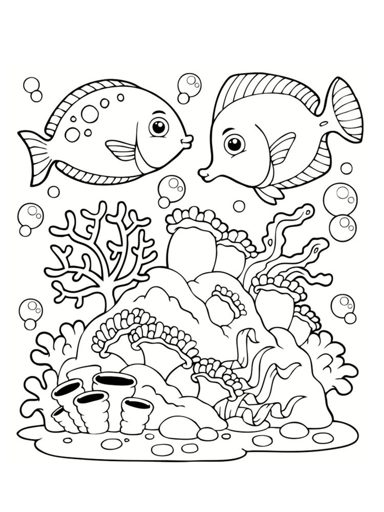 Coloriage Mer Des Dessins à Imprimer Coloriages Dibujos