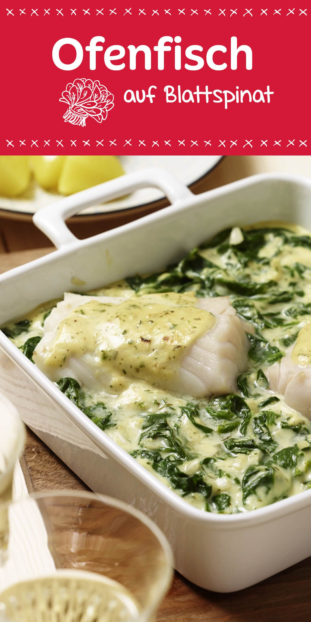 Low Carb Rezepte Fisch Ofenfisch Auf Blattspinat Recipe In 2019 Low Carb