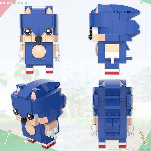 BrickHeadz: Sonic the Hedgehog | Hedgehogs, Lego and Legos