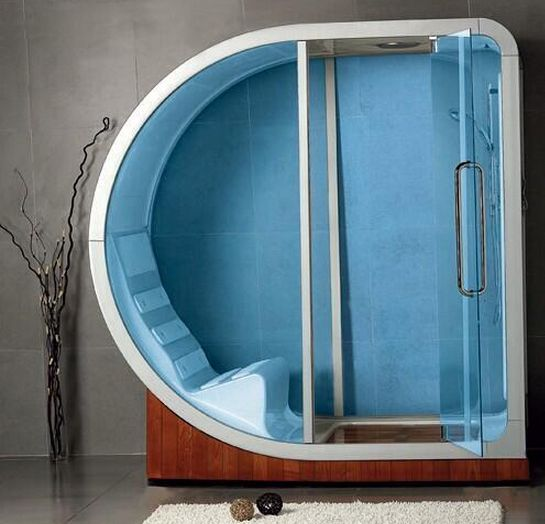 Future shower. I would spend all day in this thing.