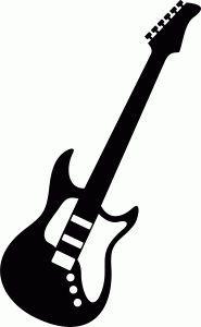 guitar silhouette google search silhouette cameo pinterest