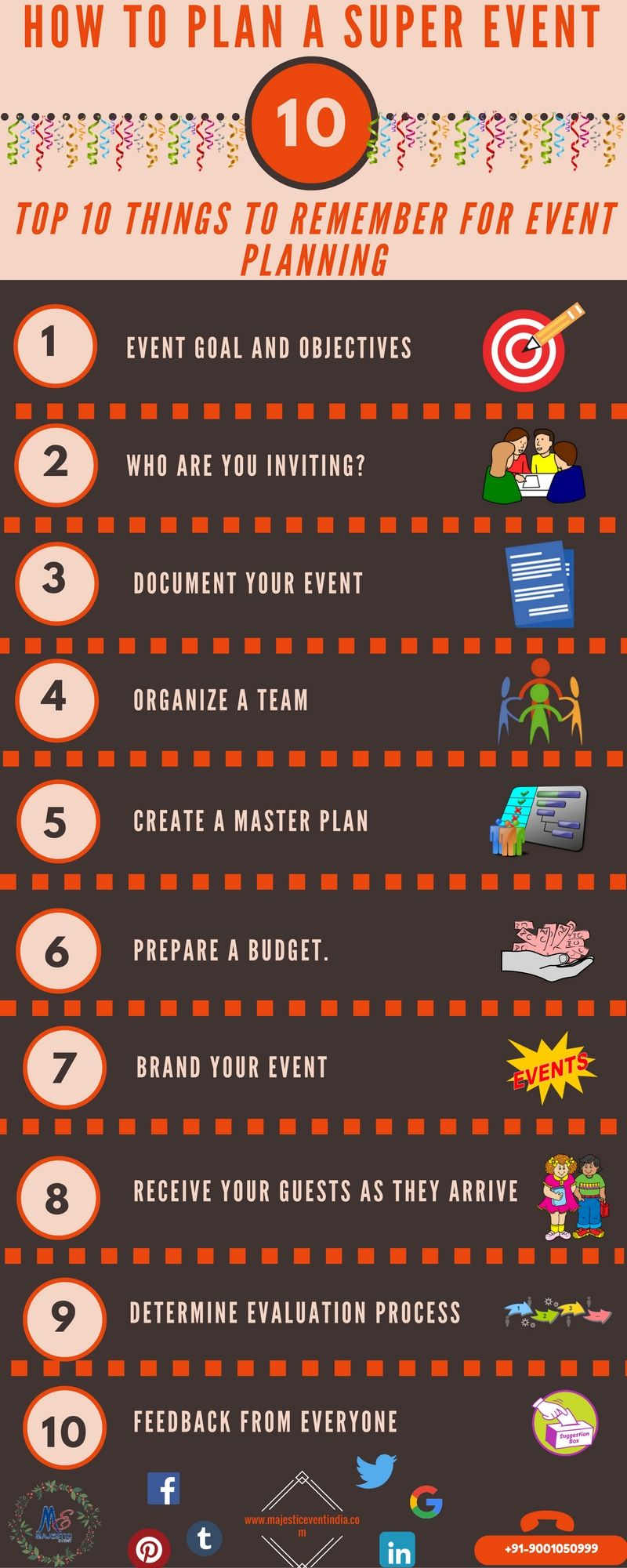 How To Plan A Super Event  Follow Us On Facebook  Https