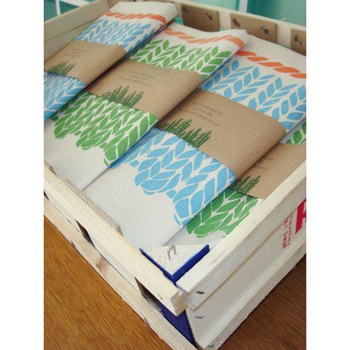knitting pattern tea towels