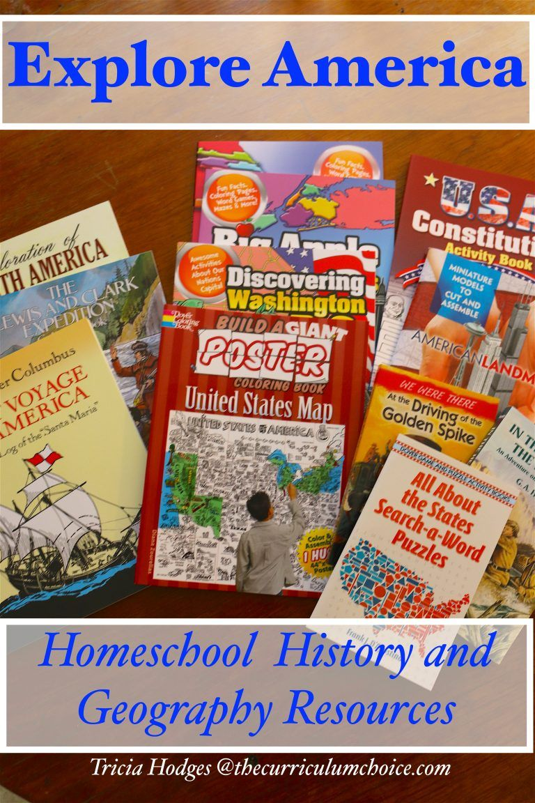 Exploring American homeschool resources for learning from Dover ...