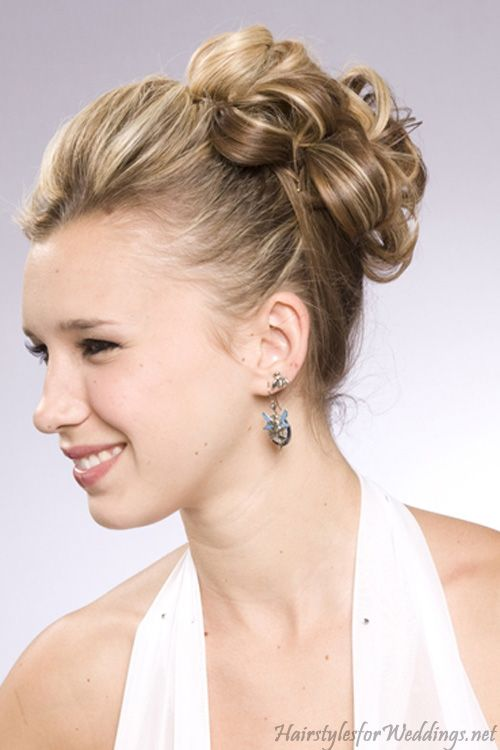 Hairstyles For A Wedding Guest With Medium Length Hair : Wedding updos for medium length hair style mid