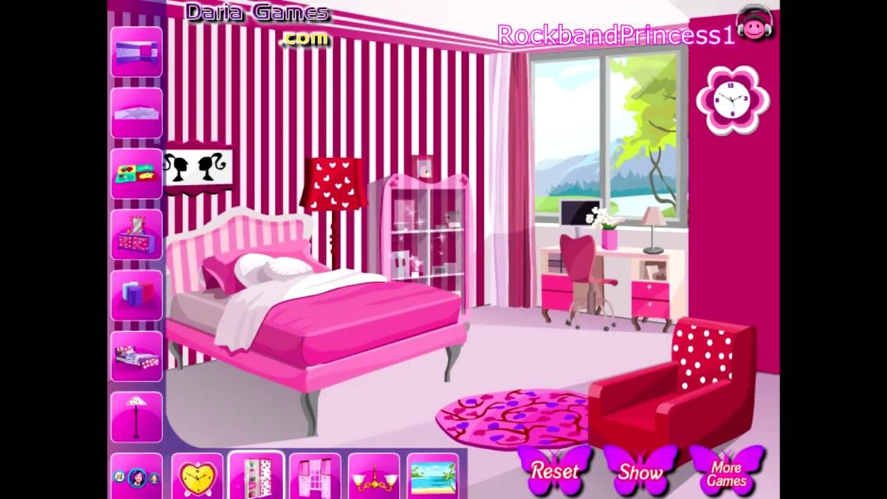 Bedroom decor games online design ideas 2017 2018 pinterest barbie house decoration games - Online home decorating ideas ...