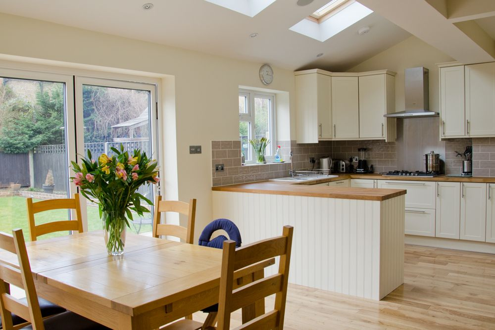 Home extension loft conversion and refurbishment picture for Kitchen ideas extension