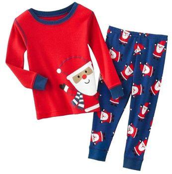 Toddler Kids Boy Girl Child Christmas Xmas Pyjamas Pj/'s Nightwear Sleepwear 2Pcs
