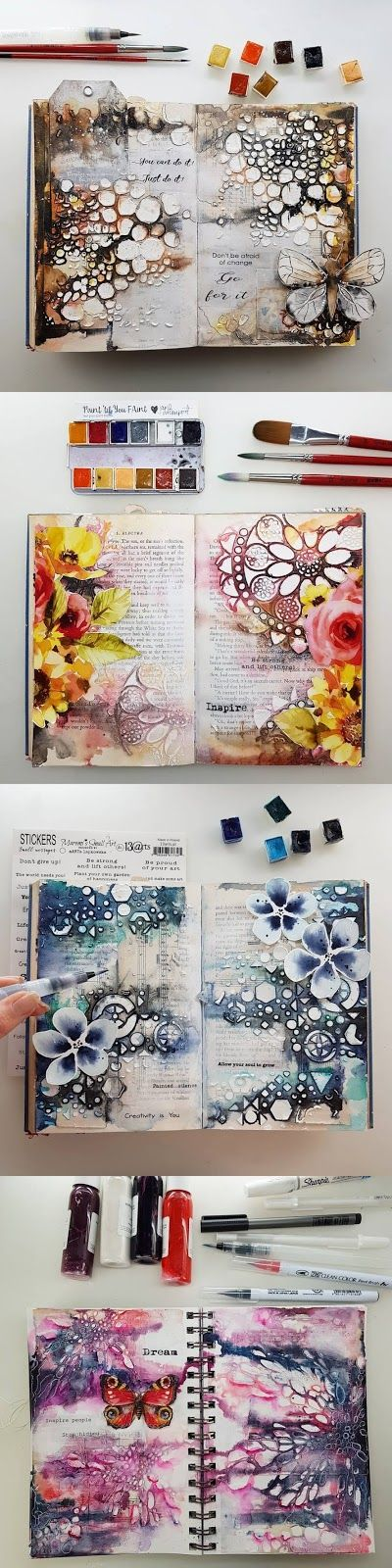 Photo of Marta Lapkowska: Art Journaling, Updates, Wanderlust and more :) – Art journal inspiration