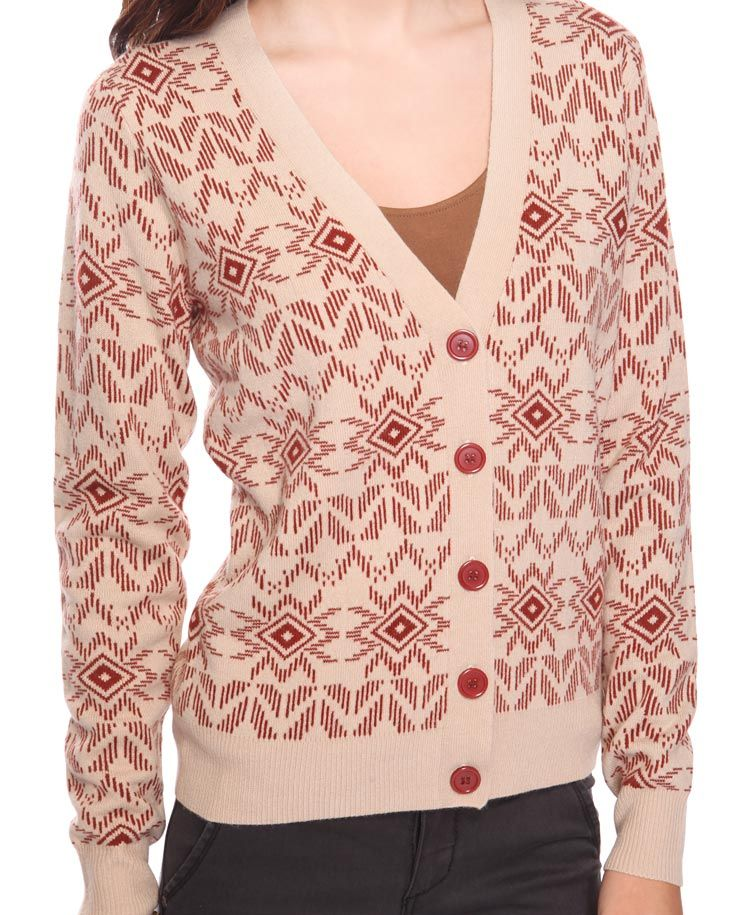 Fair Isle Cardigan Was:$24.80 Now:$16.99 Final Sale Knit cardigan ...