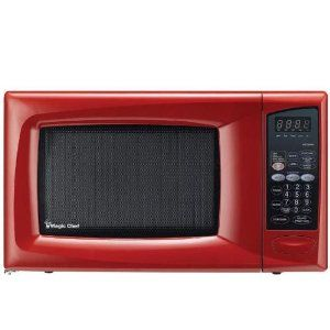 Magic Chef 9 Cu Ft Countertop Microwave Red Mcd990r