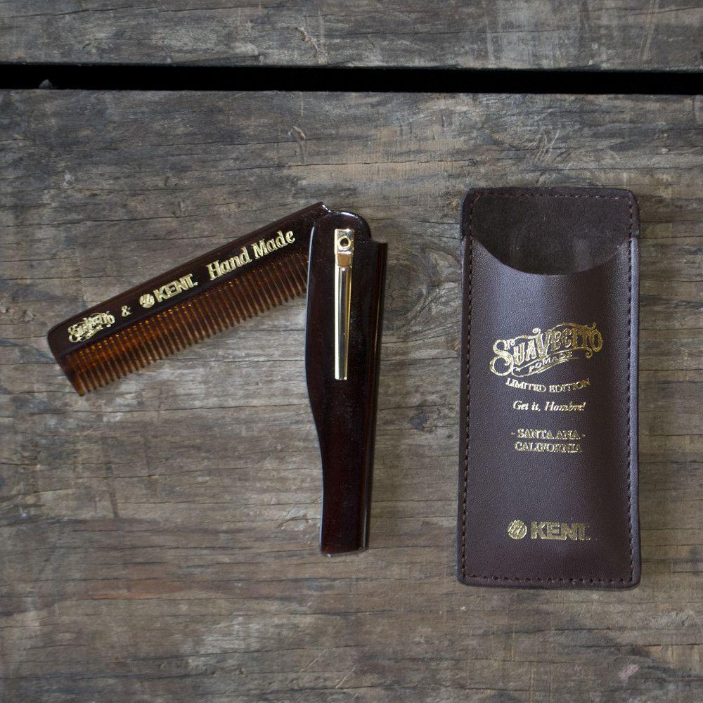 Kent Combs X Suavecito Pomade - Special Edition Handmade Comb
