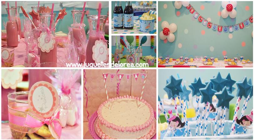 Detalles y Artículos para decorar fiestas infantiles