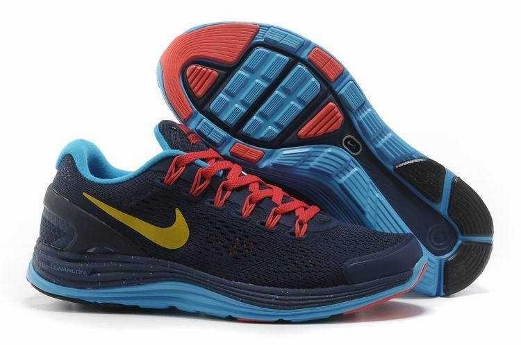 separation shoes 98881 590c3 ... skor kvinn  1479 nike lunarglide 4 dam herr svart blå gul vit crimson  se689479rerlvlo