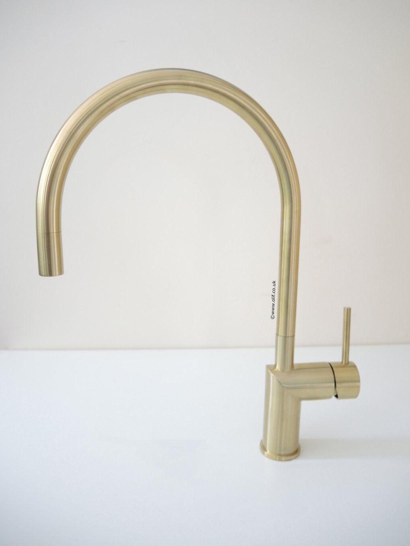 Fabulous Kitchen Mixer Taps Gold Interior Design Ideas Clesiryabchikinfo