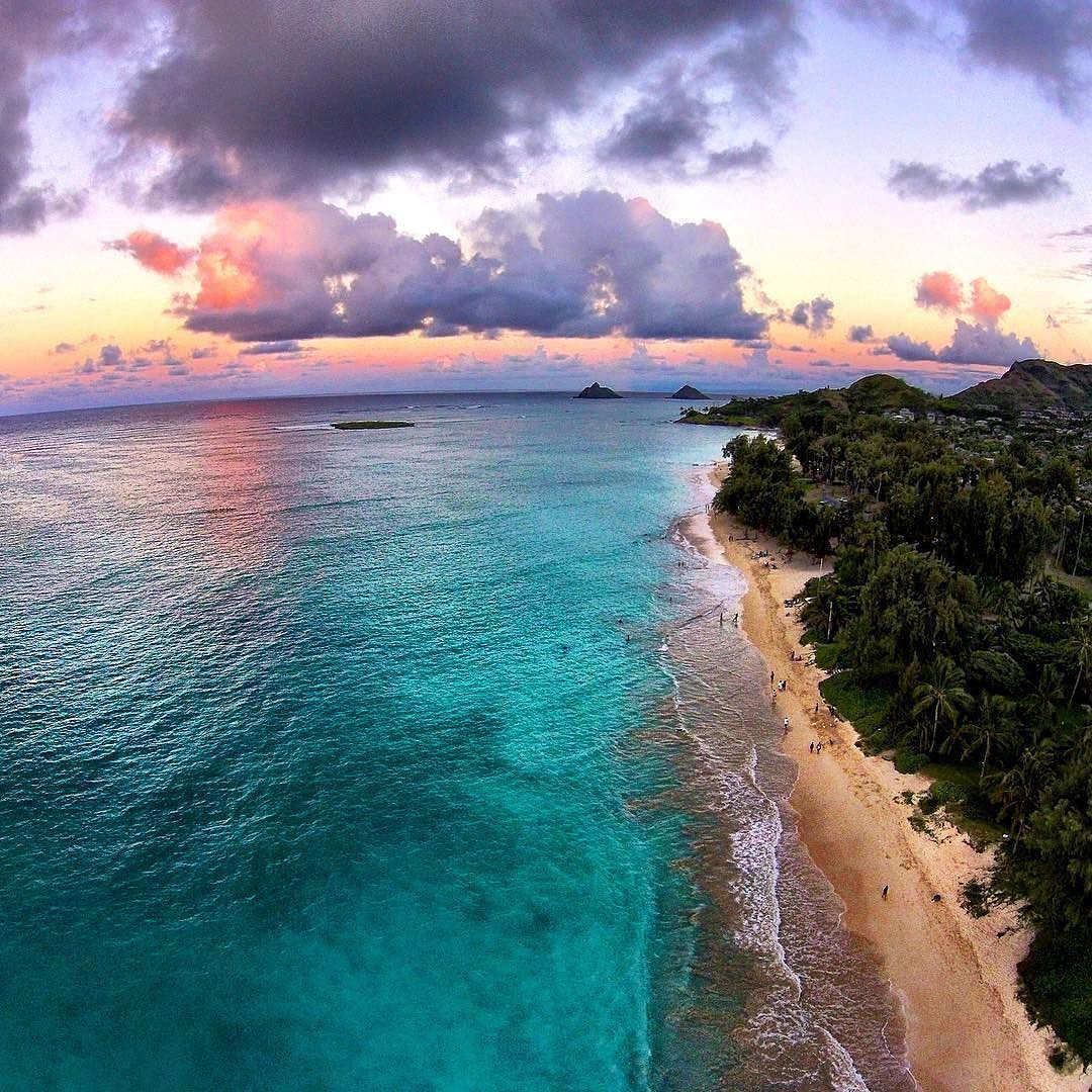 The beautiful crystal blue waters of Hawaii deserve to be seen from the sky. Click on the link in our bio for our latest drone review the #djimavicpro by @opticalhi #drone #dji #dronegear #dronestagram #droneoftheday #dronefly #aerial #dronesdaily #quadco