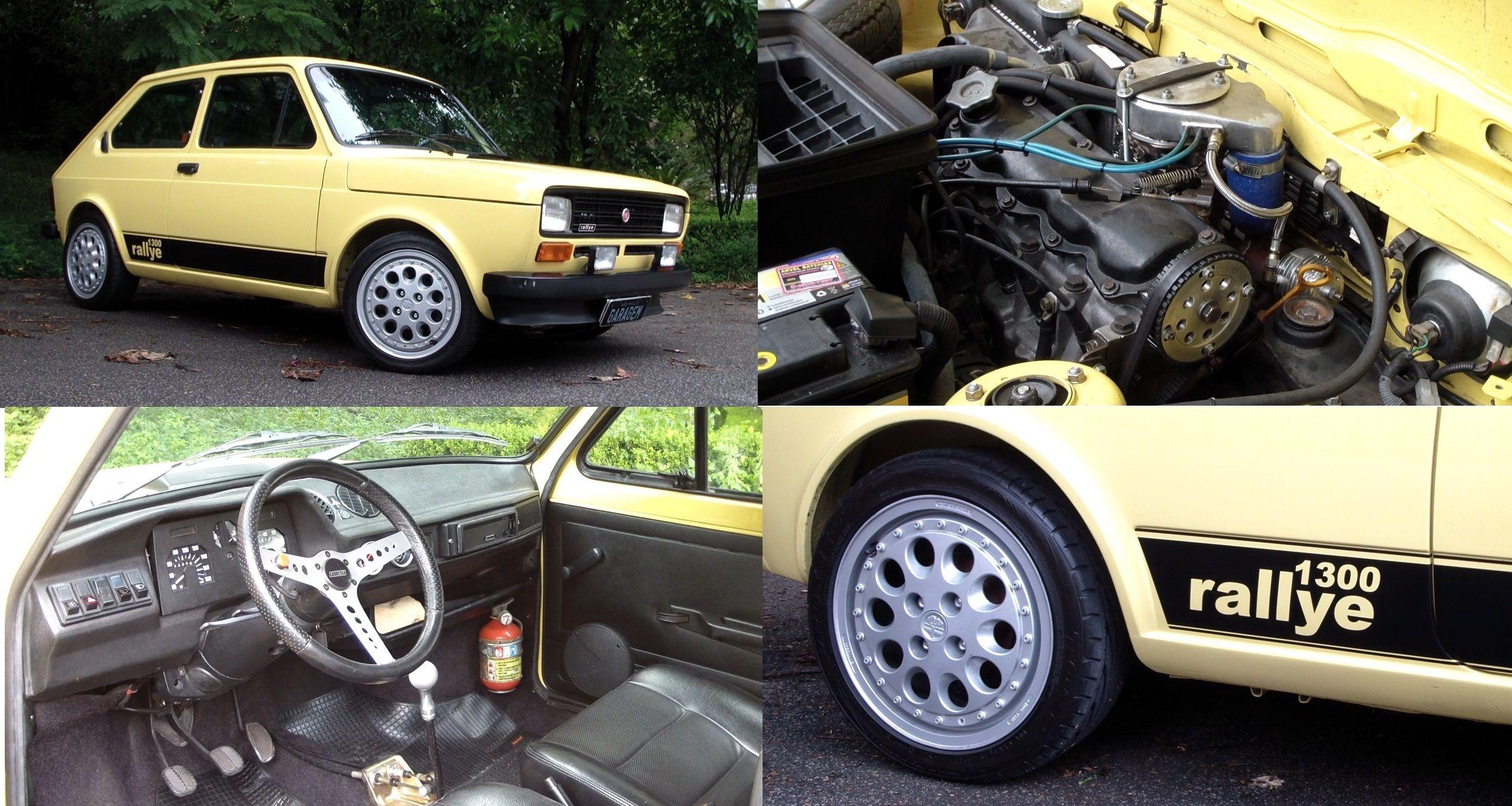 Fiat 147 Rallye Turbo Carros Vw Carros Carros Classicos