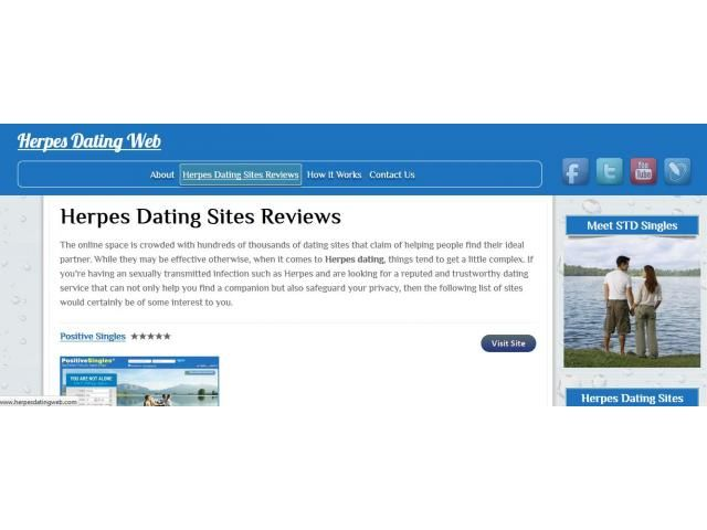 dating with herpes website
