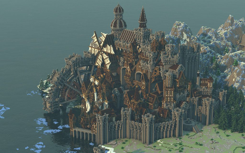 Conderial A Steampunk Medieval City By Notux Idées