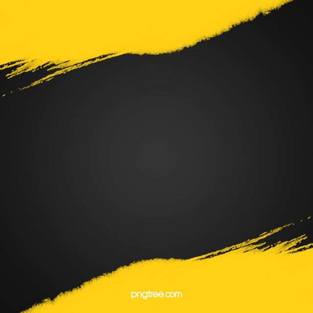 Yellow And Black Ink Abstract Background In 2020 Black