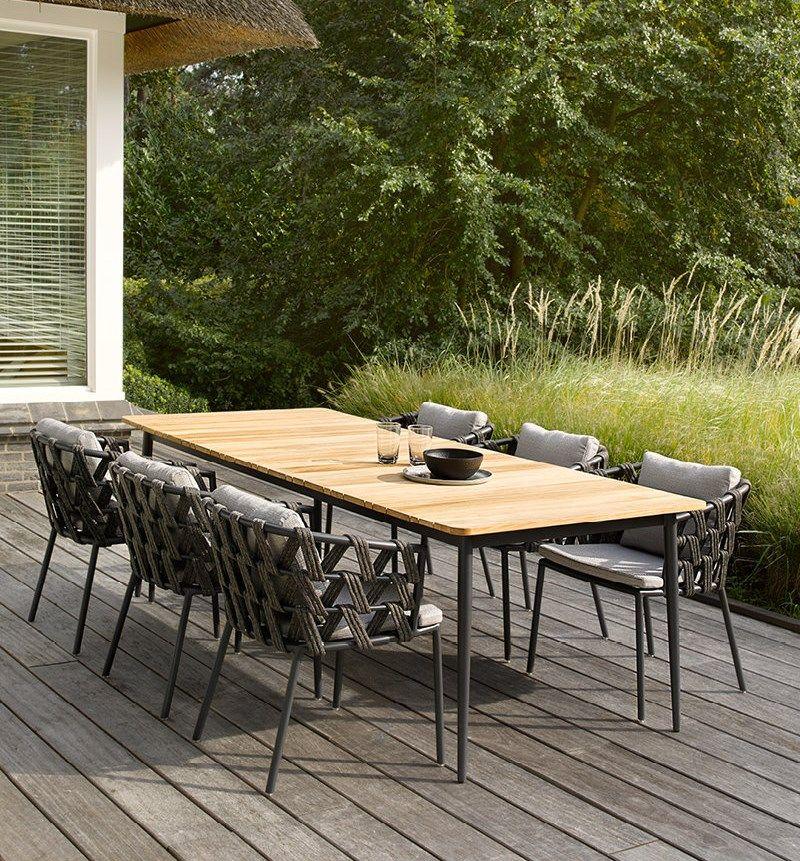 Image Du Tableau Vincent Sheppard De Malouet Design Table De Jardin Table Jardin Teck Meubles De Jardin En Teck
