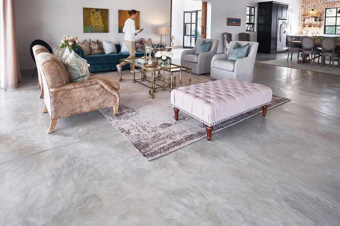 Concrete Cement Floors Interior And