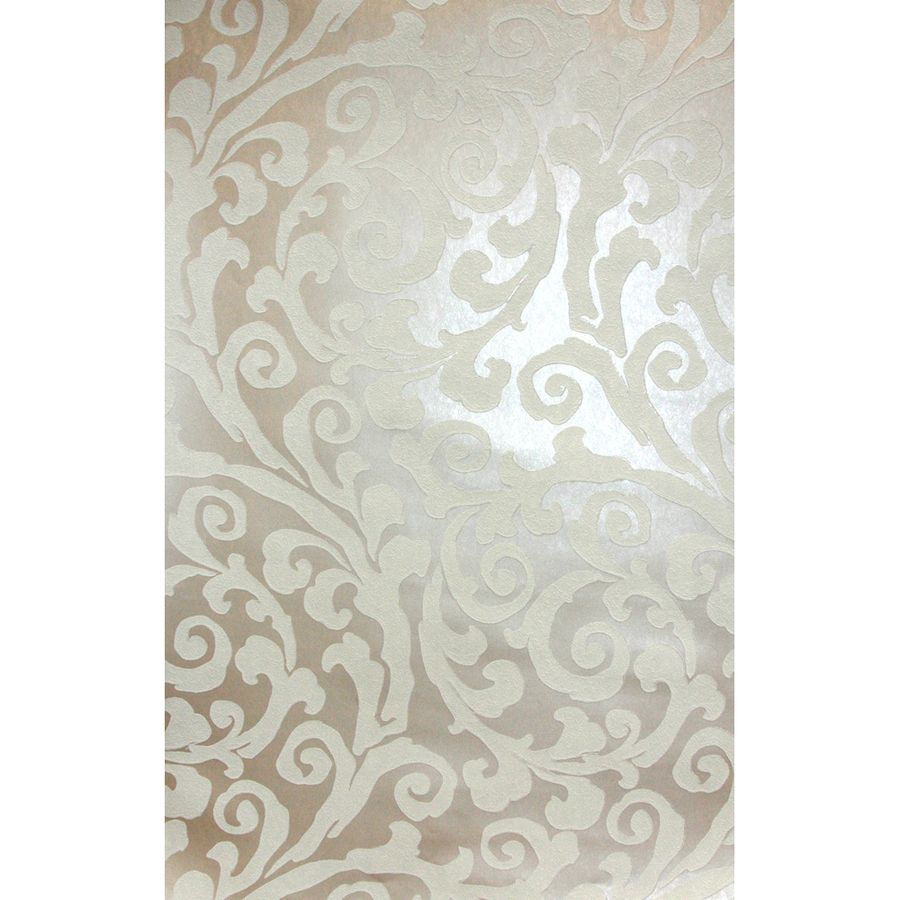 Shop allen + roth Beige and White Strippable Prepasted