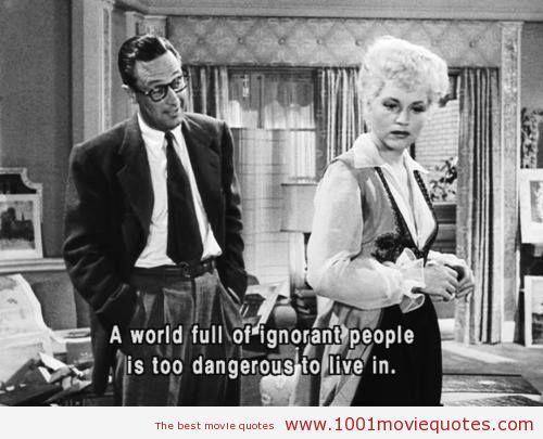 Born Yesterday (1950) - Movie Quote