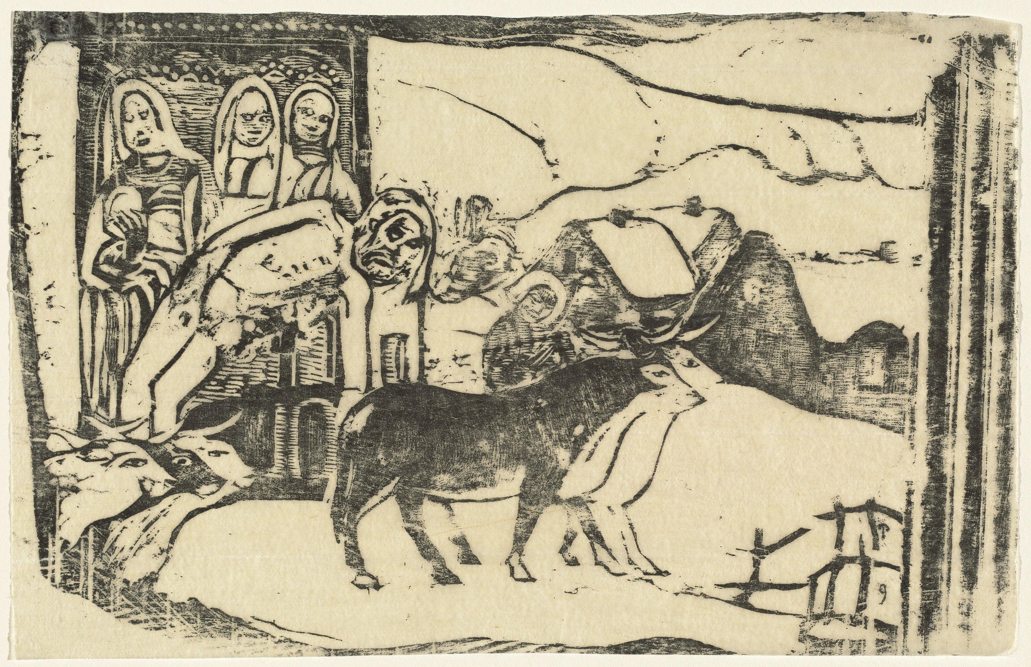 Gauguin - Le calvaire Breton