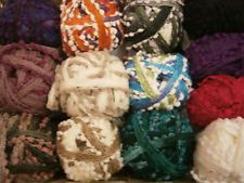 RICO LOOPY POMPOM SCARF YARN new Autumn 2012 10 BALLS ONLY £5.00 a ball