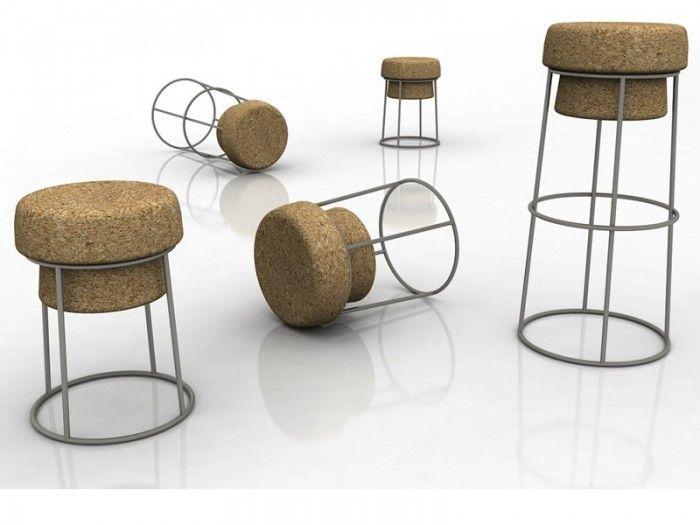 kreative idee für ein hocker design | sitzmöbel / seats | pinterest, Möbel